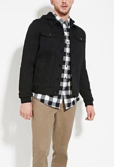 Hooded Denim Jacket