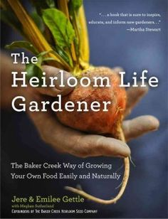 'Gardener' Gives 'Heirloom Life' To Forgotten Flora - The Baker Creek Way of Growing Your Own Food Easily and Naturally: The founder of the Baker Creek Heirloom Seed Company offers a comprehensive guide to cultivating heirloom vegetables and a wealth of t Gardening Books, Container Gardening, Gardening Tips, Gardening Supplies, Genetically Modified Food, Seeds For Sale, Reading Levels, Grow Your Own Food, Organic Gardening