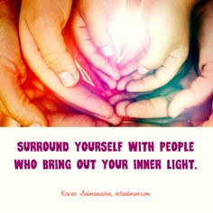 Surround yourself with people who bring out your inner light. #friends #goodfriends #notsalmon