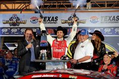 Jimmie Johnson smokes the competition to get his 4th win of the season at Texas Motor Speedway!