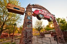 Great pictures from the new Radiator Springs Racers attraction at Disney California Adventure!