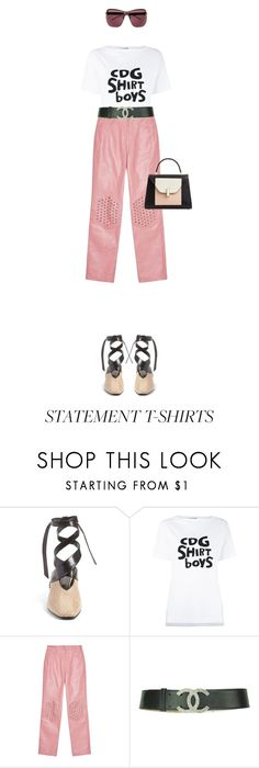 """""""Untitled #578"""" by adaylateabuckshort ❤ liked on Polyvore featuring J.W. Anderson and Comme des Garçons SHIRT"""