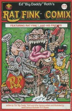 underground comics from the 1960s | rat fink comix comic book for fans of underground comix collector s ...
