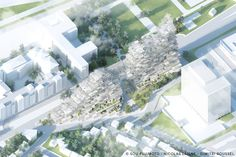 "Gallery of Sou Fujimoto, Nicolas Laisné and Dimitri Roussel to Build 28,000 sqm ""Village Vertical"" in Grand Paris - 4"