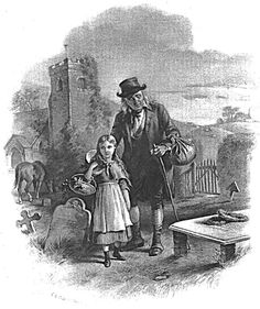 Little Nell and her Grandfather, from 'The Old Curiosity Shop' - Dickens.