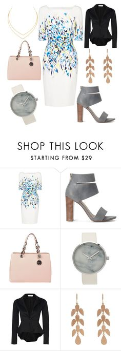 """""""Work outfit"""" by xoxeloisexox ❤ liked on Polyvore featuring L.K.Bennett, Splendid, MICHAEL Michael Kors, Irene Neuwirth and Lana"""