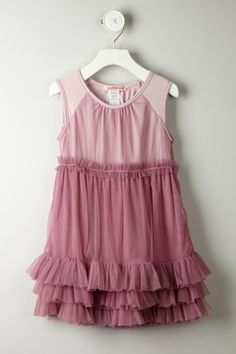 Ruffle Mesh Dress $36.00
