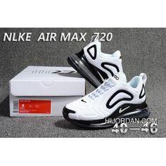 8051be4002b3e Nike Air Max 720 V2 KPU Men s Running Shoes White Black in 2019 ...