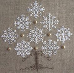 Thrilling Designing Your Own Cross Stitch Embroidery Patterns Ideas. Exhilarating Designing Your Own Cross Stitch Embroidery Patterns Ideas. Cute Cross Stitch, Cross Stitch Charts, Cross Stitch Designs, Cross Stitch Patterns, Cross Stitch Tree, Hardanger Embroidery, Cross Stitch Embroidery, Machine Embroidery Designs, Embroidery Patterns