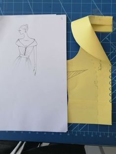 Pattern Drafting Tutorials, Sewing Tutorials, Sewing Projects, Dress Sewing Patterns, Sewing Patterns Free, Clothing Patterns, Textile Manipulation, Sewing Collars, Sewing Lessons