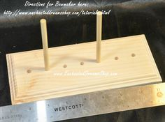 Handmade Adjustable Bow Maker. video