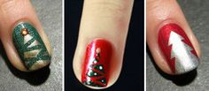 christmas nails - do it yourself!