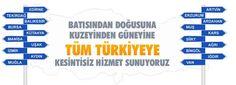Antalya Evden Eve | Antalyalı Nakliyat | 0533 170 33 07 - Hizmet Bölgelerimiz