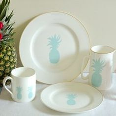 Explore Alice Peto products at The Wedding Shop. Find & add your favourites to your wedding gift list. Hawaiian Home Decor, Hawaiian Homes, Pineapple Kitchen, Cute Pineapple, Pineapple Plates, Wedding Gift List, Alice, Shops, Kitchen Themes