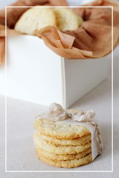 Lemon Cream Cheese Cookies. Don't bother searching for 'biscuits' on Pinterest, all you get are Scones. BISCUITS