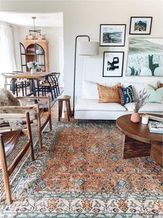 Handmade and one of a kind vintage rugs from around the world. Persian rugs, Turkish rugs and more. Living Room Area Rugs, Cozy Living Rooms, Living Room Carpet, Rugs In Living Room, Apartment Living, Living Room Oriental Rug, Oriental Rugs, Dining Rooms, Interior Design Living Room