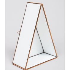Monti By Monti Medium Copper And White Archimedes Triangle Wall Display: How can you not adore these gorgeous decorative wall displays from Monti by Monti? Use them as an planter, or get creative and play around with your display. You can even leave them empty and create a strong geometric aesthetic by mixing and matching with other displays. Whatever you choose to do, they are sure to be a highlight of the room and a fantastic base of conversation.  This one has a medium sized triangular…