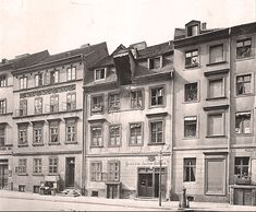 Fischerstrasse 12 und 13 (Fischerinsel)....damals...