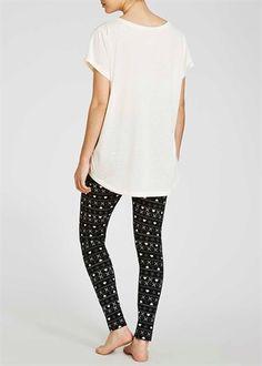 Owl Aztec Leggings Pyjama Set