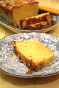 Sugee Cake, Loaf Cake, Cupcake Cakes, Tart Recipes, Easy Cake Recipes, Cooking Recipes, Rich Butter Cake Recipe, Almond Tart Recipe, Cheesecake Cupcakes
