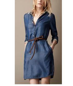 2015 Autumn Fashion Celebrity Style Slim Jeans Women's Denim Dress Thin Blue Solid Long Sleeve Jeans Dress Free Sashes B032-in Dresses from Women's Clothing & Accessories on Aliexpress.com | Alibaba Group
