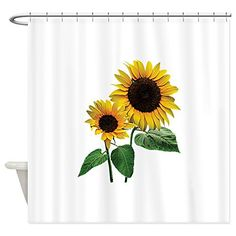 Bathroom Rugs Ideas | CafePress  Sunflower Mommys Love Shower Curtain  Decorative Fabric Shower Curtain -- Continue to the product at the image link. Note:It is Affiliate Link to Amazon.