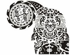 45 Best Maori Shoulder Tattoo Shield Designs Images Polynesian