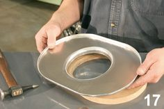 Check out these hammer-forming skills that you can use to custom shape metal at home.