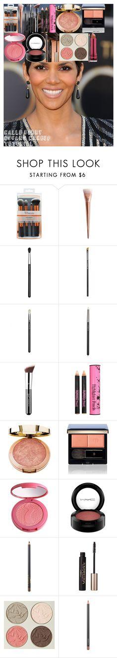 """Halle Berry Oscars Makeup Tutorial"" by oroartye-1 on Polyvore featuring beauty, MAC Cosmetics, Sigma, Forever 21, Milani, Clé de Peau Beauté, tarte, L'Oréal Paris, Chantecaille and 217"