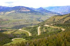 Chief Joseph scenic byway from Yellowstone National Park to Cody