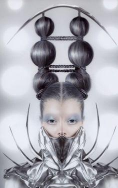 Photos by Gisli Ari Hafsteinsson, which won the Avantgard coiffure awards