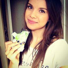 Beautiful Ingrid Nilsen.Long hair, simple, natural makeup
