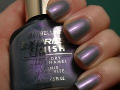 Old and New - Maybelline Express Finish Blue Craze & Chelsea Time Zone Nail Polish Art, Vintage Beauty, Old And New, Maybelline, It Is Finished, Nails, Chelsea, Blue, Ongles