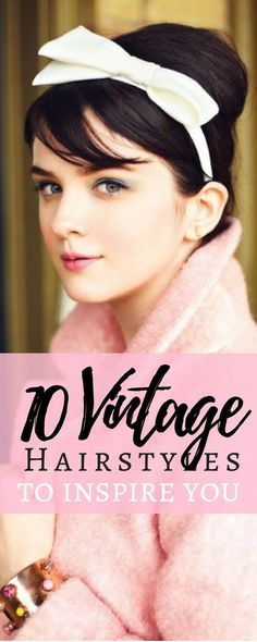 Vintage Hairstyles For Your Vintage Wardrobe Vintage Beauty: All About Vintage Hairstyles Retro Hairstyles, Weave Hairstyles, Wedding Hairstyles, Gorgeous Hairstyles, Latest Hairstyles, Vintage Beauty, Vintage Fashion, Vintage Glamour, Beauty Tips For Face