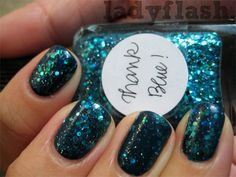 1x lynnderella thank blue! + 2x opi ski teal we drop