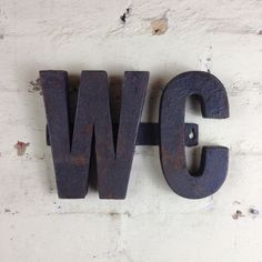 Industrial WC sign: Mulbury