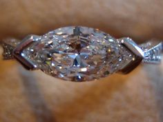 I love this ring! Never thought about turning a stone that way! Interesting