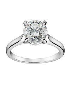 Cartier Solitaire 1895 Engagement Ring - this is exactly what I want