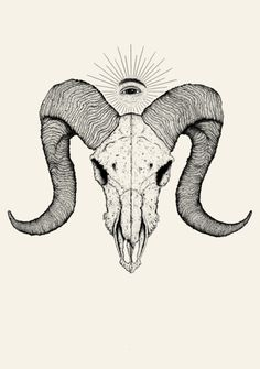 shoulder piece. w/out the eye above. Aries.