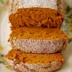 Pudding Pumpkin Bread by It is so easy! Hands-down the best i've ever had!Vanilla Pudding Pumpkin Bread by It is so easy! Hands-down the best i've ever had! Köstliche Desserts, Delicious Desserts, Dessert Recipes, Yummy Food, Tasty, Recipes Dinner, Pumpkin Spice, Sugar Pumpkin, Pumpkin Loaf
