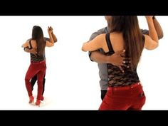 ▶ How to Do a Bachata Basic Side-to-Side | Bachata Dance - YouTube