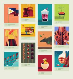 We have posted and shared some of the amazing work of Dan Matutina, a designer and illustrator based in the Philippines. Filipino Art, Filipino Culture, Aesthetic Drawing, Aesthetic Art, Wave Illustration, Philippine Art, Philippines Culture, Graphic Artwork, Canvas Designs