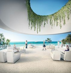 Images showing Herzog & de Meuron's Jade Signature residential tower for Miami