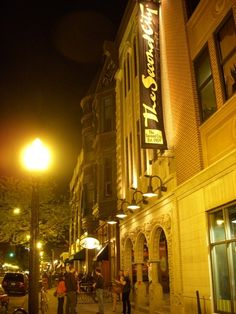 The Second City in Chicago - went all by myself while on a business trip in Milwaukee! Great night out.  Check!