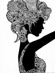 Zentangle, doodling