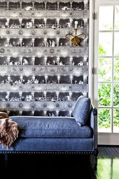 A Delightful Collection of Trompe L'Oeil Wallpaper
