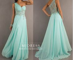 Mint prom dresses wedding dress pageant dress gorgeous beaded graduation gown one shoulder prom dresses bridesmaid dresses bridal dress on Etsy, $129.00