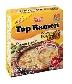 TOP RAMEN SHORT CUTS