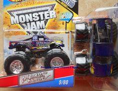 2011 Hot Wheels Maniac #9 Monster Jam Truck tattoo series chrome rim version #HotWheels #MONSTERJAM Monster Jam, Monster Trucks, Truck Tattoo, Love My Boys, Hot Wheels, Diecast, Chrome, Ebay, Love My Kids