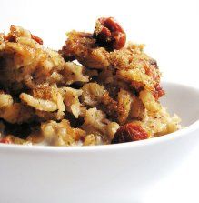Baked Oatmeal - perfect breakfast during Daniel Fast.